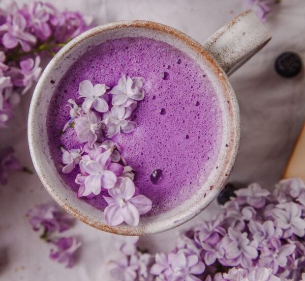 blue dream latte