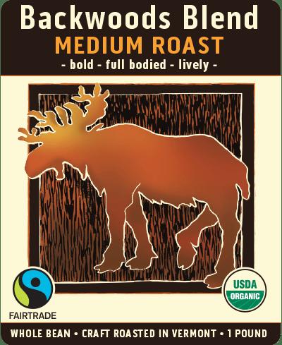 Backwoods   Medium Roast Coffee Blend