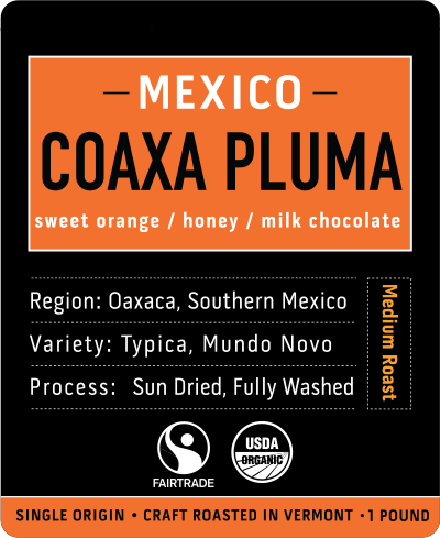 Coaxa Pluma | Mexico Medium Roast Coffee