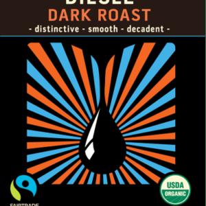 Diesel Dark Roast Regular Blend Blend Coffee