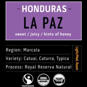 La Paz | Honduras Coffee