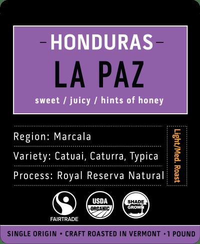 La Paz   Honduras Coffee